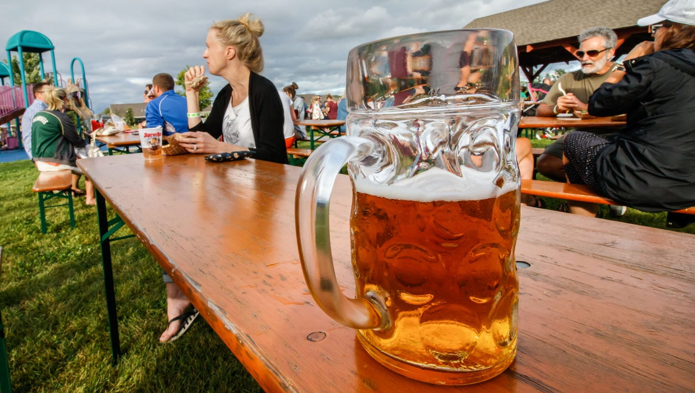 muskego's first beer garden features raised grain brewing company