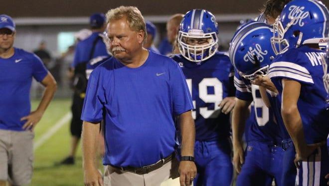 White House coach Jeff Porter