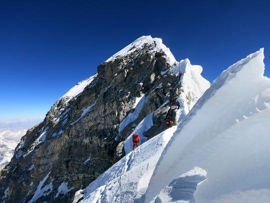 AP New Zealand Everest Plans Denied