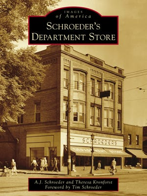 """""""Schroeder's Department Store"""" book cover"""