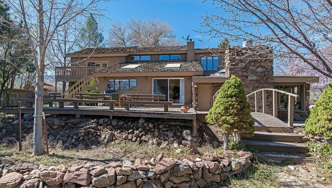 File art of a home for sale in Reno. This house on Del Monte Lane was listed at $1,025,000 when it was previously for sale.