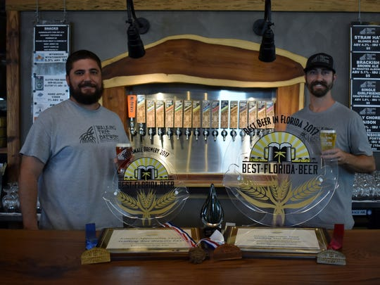 Walking Tree Brewery founders Mike Malone and Alan