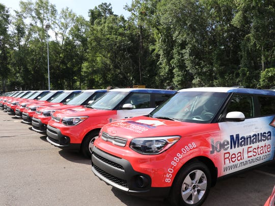 Joe Manausa Real Estate has unveiled a fleet of 17 new ad-wrapped vehicles.