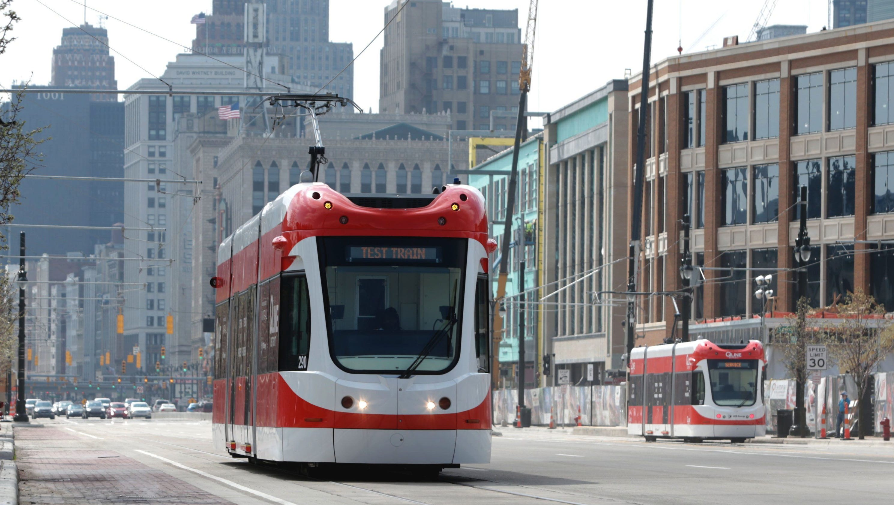 Ready for the qline detroit 39 s streetcar gets ready to debut for Motor city pawn shop on east 8 mile