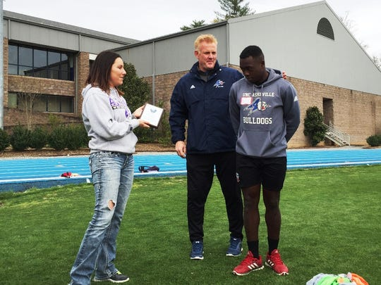Buncombe County Spoecial Olympics and the UNC Asheville soccer teams recently partnered for two special events.