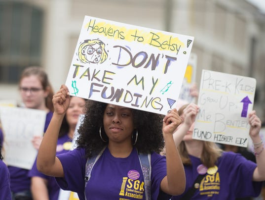 Higher Education Rally