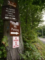 Alander Mountain Trailhead, You can't miss it!