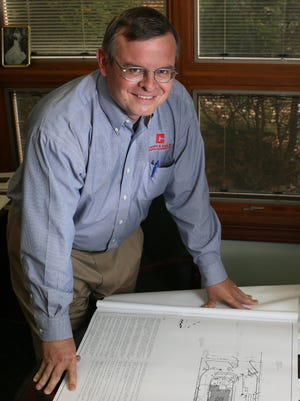 Thad Claggett, president of Claggett & Sons and a Republican candidate for state representative.