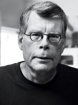 Novelist Stephen King will appear Sept. 30 at the Riverside Theater.