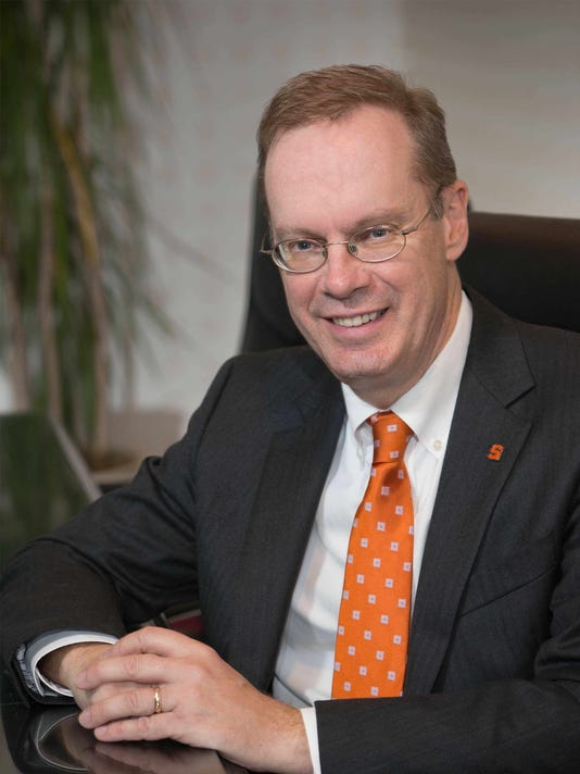 Syracuse chancellor Kent Syverud
