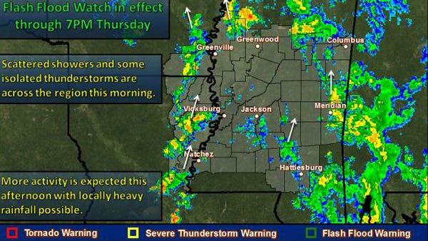 Mississippi weather watch