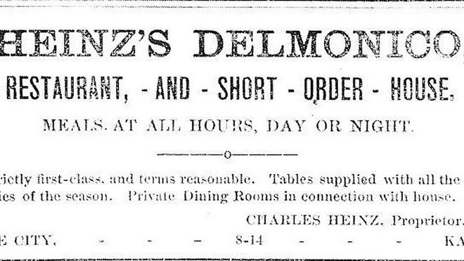 The selling of oysters were a top item in the early days of Dodge City. SUBMITTED PHOTO