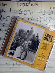 "Eddie Giles' first album and the music to his hit song ""Losin' Boy."""