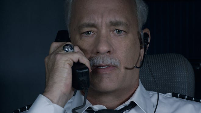 "Tom Hanks as Chesley ""Sully"" Sullenberger in ""Sully."""