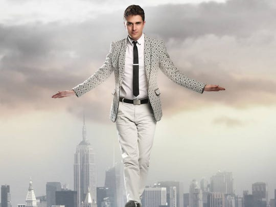 Adam Trent will perform his illusions on stage at the Grand Theater April 7.