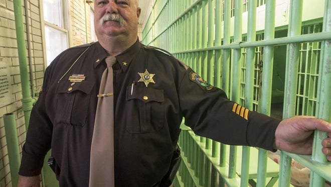 FILE: Warren County Sheriff Martin Edwards stands in a cell block area of the Warren County Jail.
