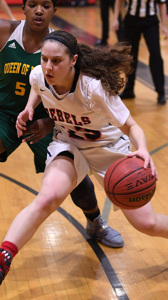 Saddle River Day junior guard Michelle Sidor is scoring 24 points per game.