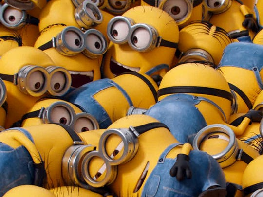 """Minions"" will play for free in Mill Race Park on Saturday."