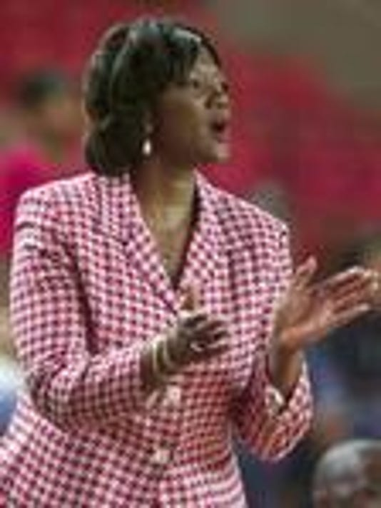 Former women's basketball coach Denise Taylor.