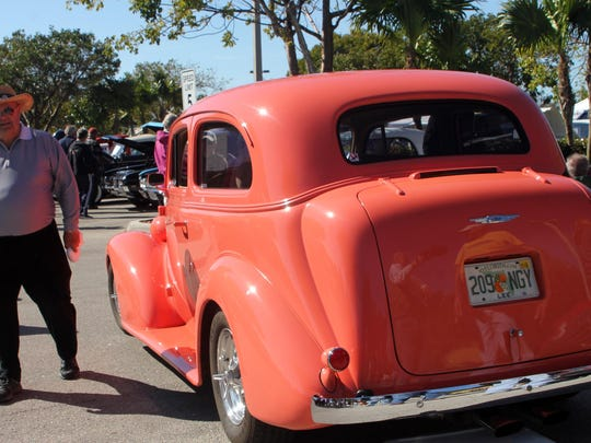 Some gems, like this 1937 Chevy 2-door sedan, were open to buyers. Asking rice of this one was $26,000.
