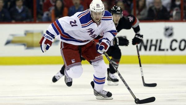 Rangers center Derek Stepan has not played since the Stanley Cup Final in June.