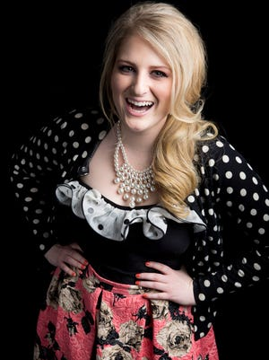 Singer/songwriter Meghan Trainor, known for the hit single 'All About That Bass,' poses for a portrait on Aug. 7, 2014, in New York.