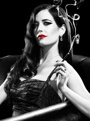 Eva Green as the titular dame Ava Lord in 'Sin City: A Dame to Kill For.'