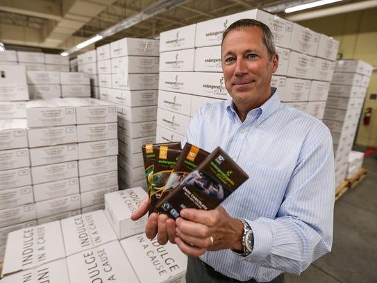 Curt Vander Meer, CEO of Endangered Species Chocolate,