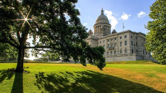 Rhode Island Statehouse, in Providence