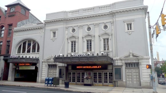 Reinhardt Dempwolf viewed the Capitol Theatre design, building at right, as his favorite. The complex is seen here in 2008.