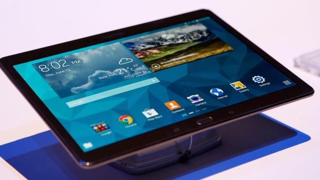 Samsung's Galaxy Tab S.