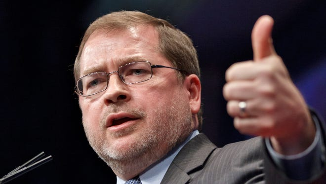 Anti-tax activist Grover Norquist, shown in 2012, joined conservative activists calling for an overhaul of U.S. immigration laws.