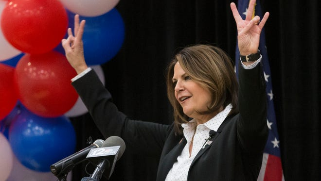 Republican senatorial challenger Kelli Ward