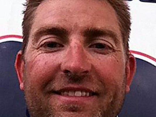 Blackman baseball coach Justin Entrekin