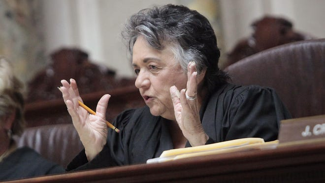 Wisconsin Supreme Court Justice Shirley Abrahamson.