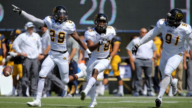 Grambling defensive back Guy Stallworth (29) is one of several players who could sign undrafted free agent deals on Saturday.