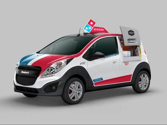 Domino S Rolls Out New Pizza Delivery Car