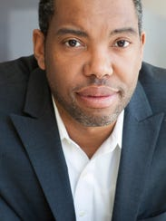 Author Ta-Nehisi Coates.