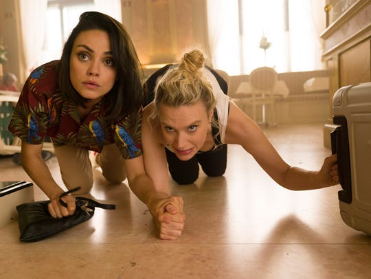 """Mila Kunis, left, and Kate McKinnon in """"The Spy Who"""