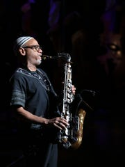 Kirk Whalum hosts fellow sax man Everette Harp as part of his Kafe Kirk series at the Halloran on Sunday.