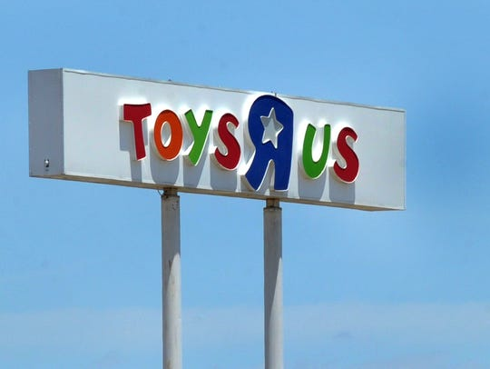 The Toys R Us store located at 2500 East Elliot St.