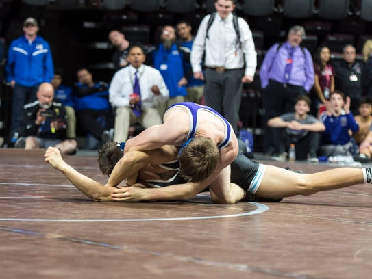 Spanish Springs won the 4A state wrestling title on