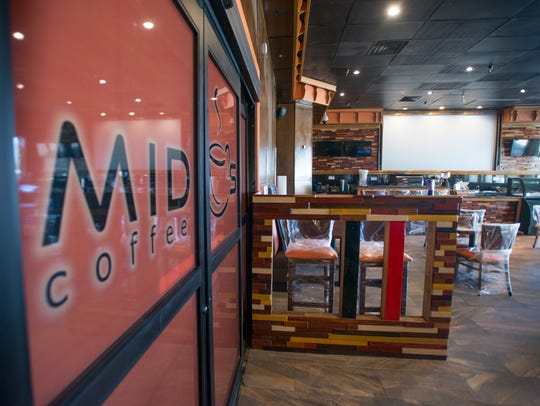 Mido's coffee shop in Pensacola on Friday, March 23,