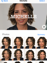 Apple's Photo app in IOS 10 uses facial recognition