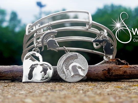 Spartan bracelets designed by Sweet Custom Jewelry in Old Town.