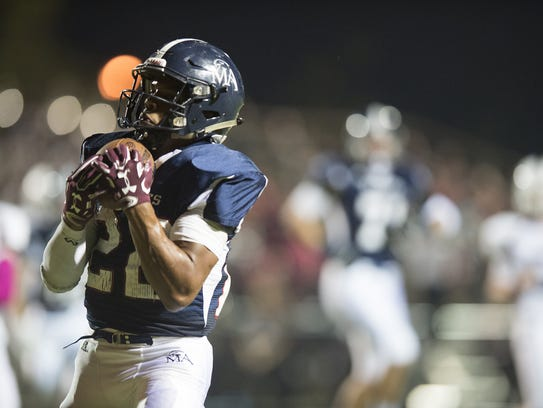 Montgomery Academy's Keefe White rushed for 1,714 yards