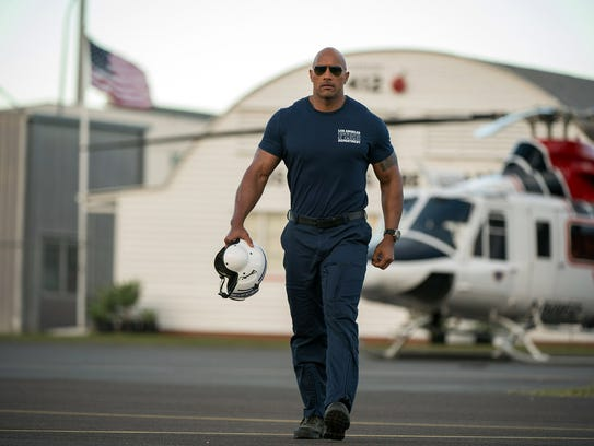 "Dwayne Johnson meets the toughest opponent yet in ""San"