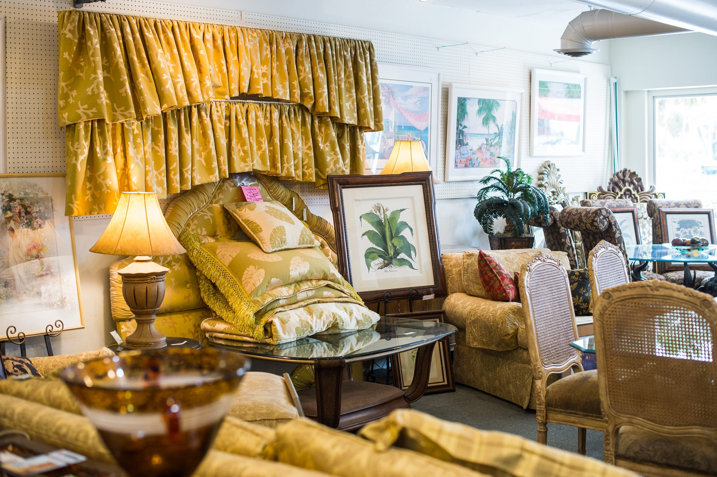 Furniture Sits In A Newer Section At Twice As Nice