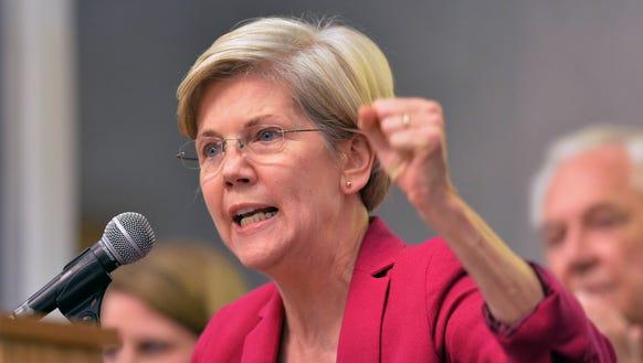 Sen. Elizabeth Warren, D-Mass., (Timothy D. Easley,