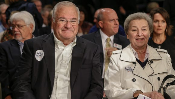 Joe and Marlene Ricketts. She donated $3 million to